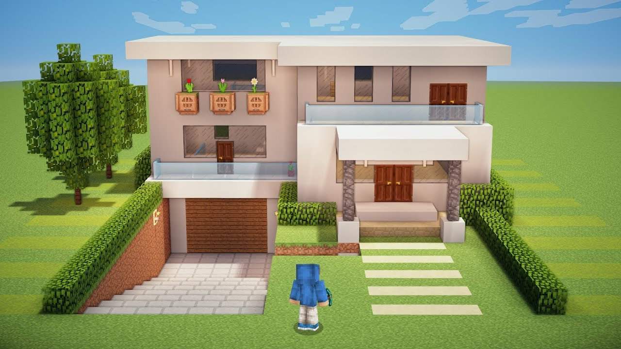 Minecraft Tutorial - Casa Moderna Subterrânea - YouTube