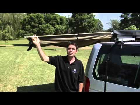 AUVENT FOXWING RHINO RACK OUVERTURE A 270°