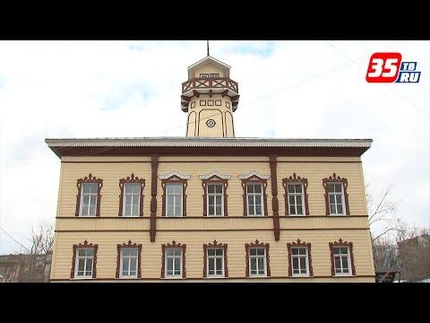Как было в 19 веке: в Череповце заканчивают возрождение деревянного здания Гордумы