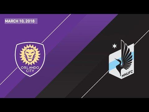 HIGHLIGHTS: Orlando City SC vs. Minnesota United FC | March 10, 2018