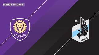 HIGHLIGHTS: Orlando City SC vs. Minnesota United FC | March 10, 2018
