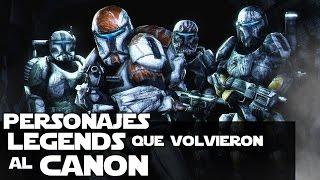 Star wars Personajes De Legends Que No Sabias Que Eran Canon