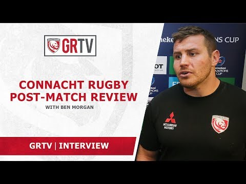 Morgan proud of the team's effort in Sunday's victory over Connacht