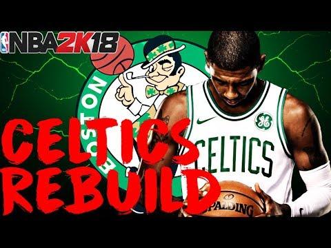 BEST TEAM OF ALL-TIME!?!? REBUILDING THE BOSTON CELTICS!! NBA 2K18 MY LEAGUE
