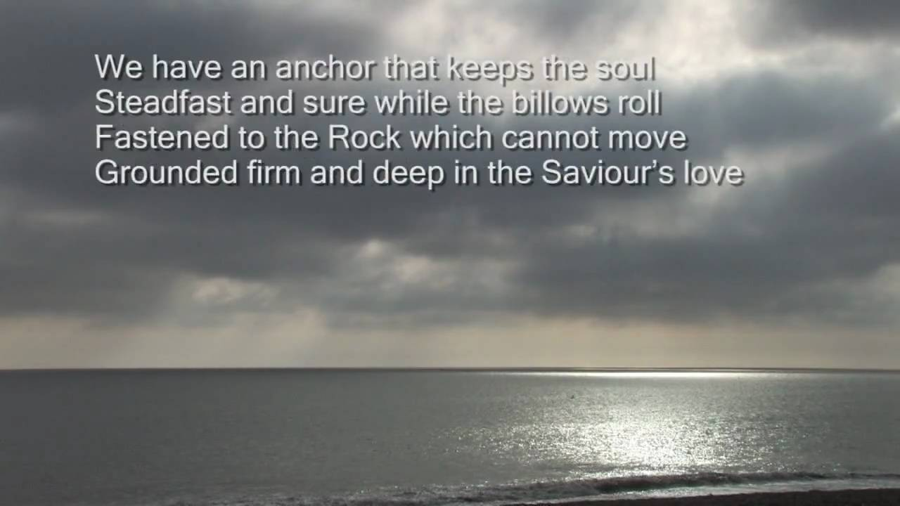 Will your anchor hold in the storms of life