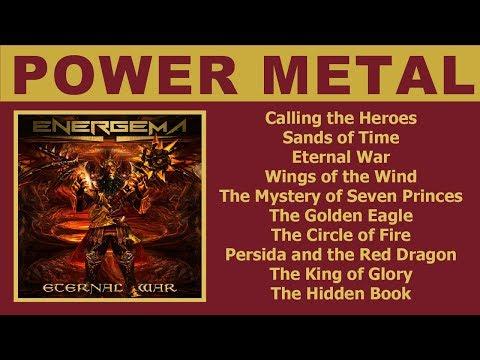 Energema - Eternal War (Power Metal, Full Album)