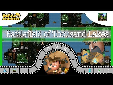 [~Scandinavia Father~] #4 Battlefield of Thousand Lakes - Diggy's Adventure