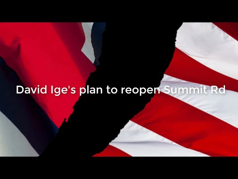 Governor David Ige's plan to open Summit Rd December 19th 2019