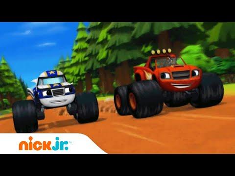 Acceleratie 🚗💨 Muziekvideo | Blaze en de Monsterwielen | Nick Jr. Nederlands