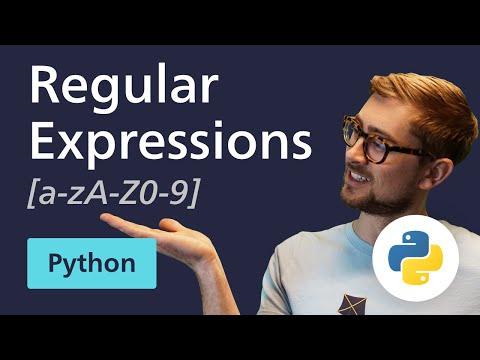 [5 Minute Tutorial] Regular Expressions (Regex) In Python