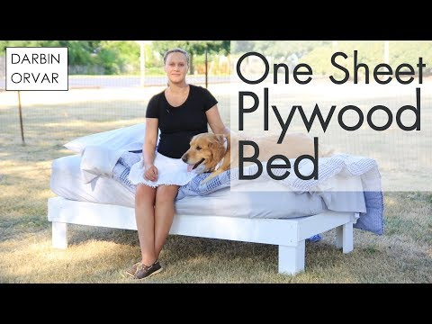 DIY Platform Bed Easy & Cheap - Darbin Orvar