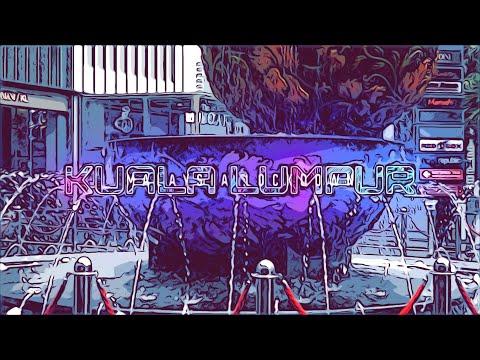 Kuala Lumpur Malaysia Post Lockdown Comic Style