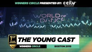 The Young Cast | 1st Place Team | Winners Circle | World of Dance Boston 2018 | #WODBOS18