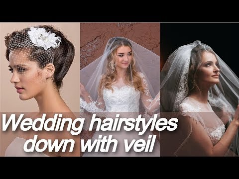 20 New 💋 wedding hairstyles down with veil