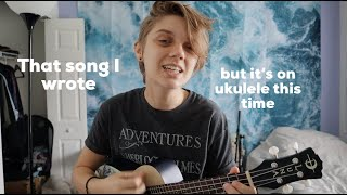 Stay positive? In this economy? (on ukulele!)