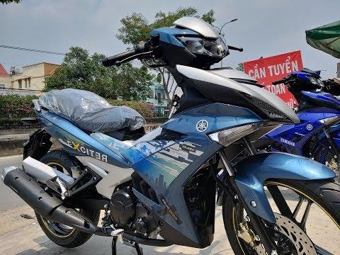 EXCITER 150 MÀU XANH BẠC   CÁCH PHÂN BIỆT XE ZIN   Soi cận cảnh Yamaha Exciter 150 2019 màu xanh bạc