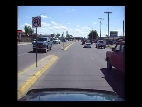 Billings, Mt driving down Main St.