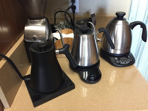Fellow Stagg EKG VS OXO VS Brewista electric gooseneck kettle