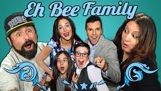 Parents React to Eh Bee Family Vine Compilation