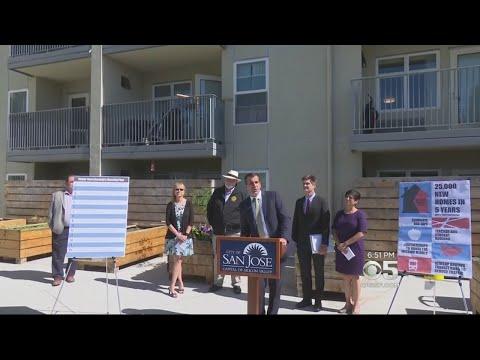 San Jose Officials Unveil New Low-Income Housing Plan
