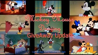 Mickey Mouse Drawing Giveaway Update