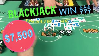 Big Win at Blackjack - When the splits work - NeverSplit10s