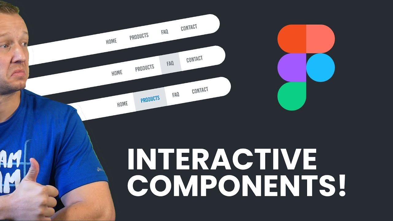 Building a Navigation with Figma's BETA Interactive Components
