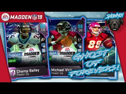 Getting All The Ghost of Forever! We Got Mike Vick! - Madden NFL 19