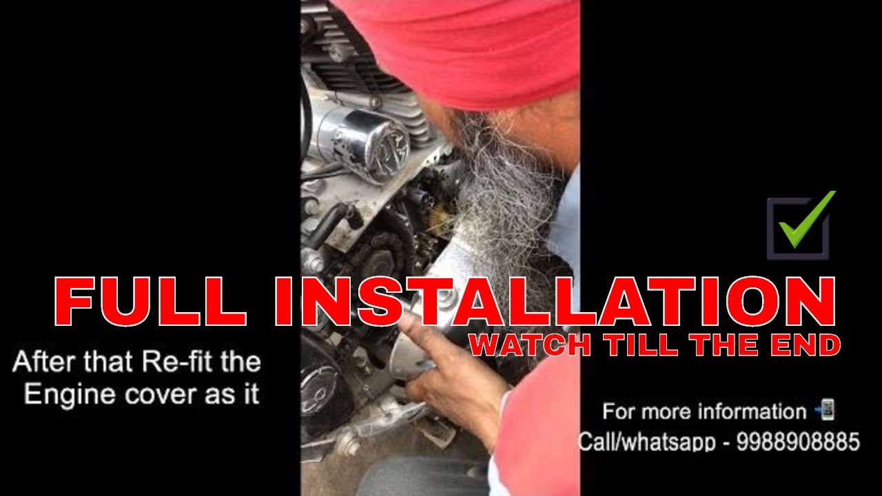 How To Install Manual Decompressor In All Models Of Royal Enfield