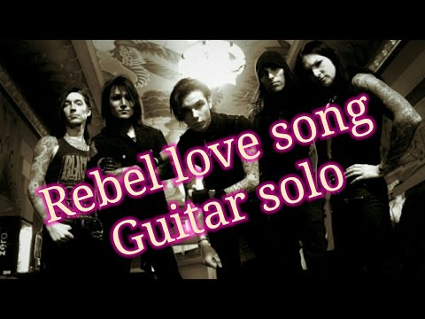 Black Veil Brides - Rebel Love Song solo (guitar cover) : bybig