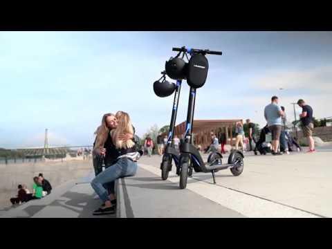 Electric Scooter Blaupunkt ESC808_eng