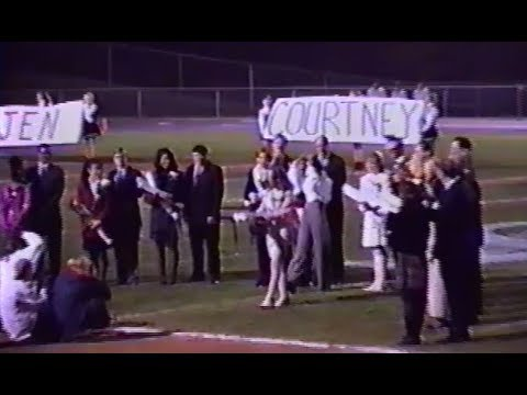 Centreville High School (Clifton, Virginia) 1994 Homecoming Halftime Ceremony