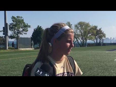 Women's Soccer - Lauren Clem, Hannah Davison - Post Maryland