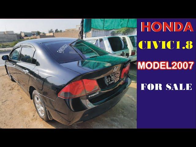 honda civic 1.8 oriel automatic model 2007 for sale