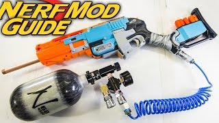 How to Make an Ultra Sledgefire - NERF SUPER SHOTGUN Mod Guide