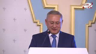 В Баку отметили 25 летие Общества дружбы Азербайджан Казахстан