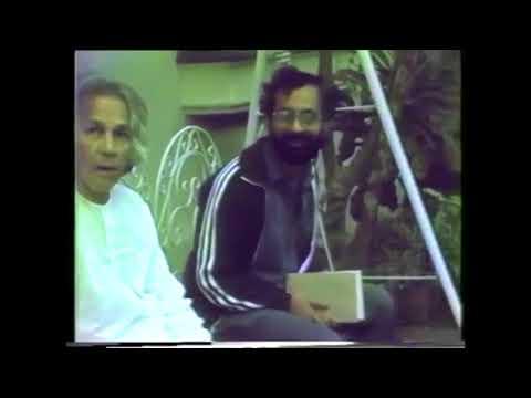 U.G. Krishnamurti - Swinging & Relaxing in the Backyard