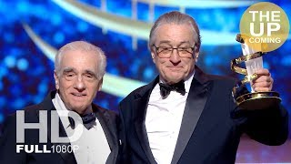 Robert De Niro and Martin Scorsese: Tribute ceremony at Marrakech Film Festival – full video