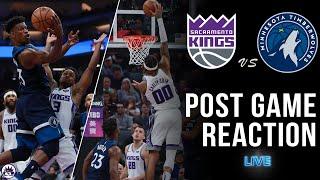 Kings vs Timberwolves Post Game Show | 2018-19 NBA Season