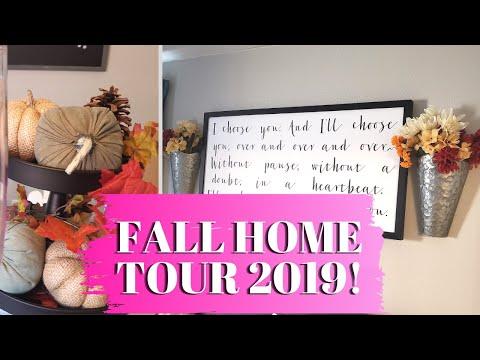 Fall Home Tour 2019! || Fall Decor On a Budget