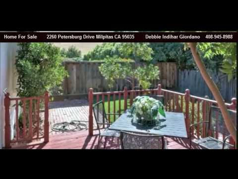 Milpitas Home For Sale 2260 Petersburg Drive (SOLD)