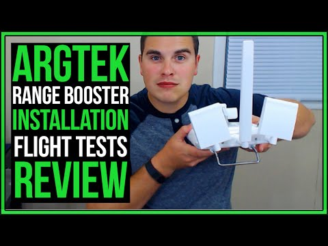 Phantom 3 Standard Tip #4 | ARGtek Range Extender | Install, Flight Tests, and Review #Drone