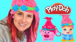 TROLLS Radz and Play Doh Crazy Cuts Poppy Makeover | Dreamworks Movies