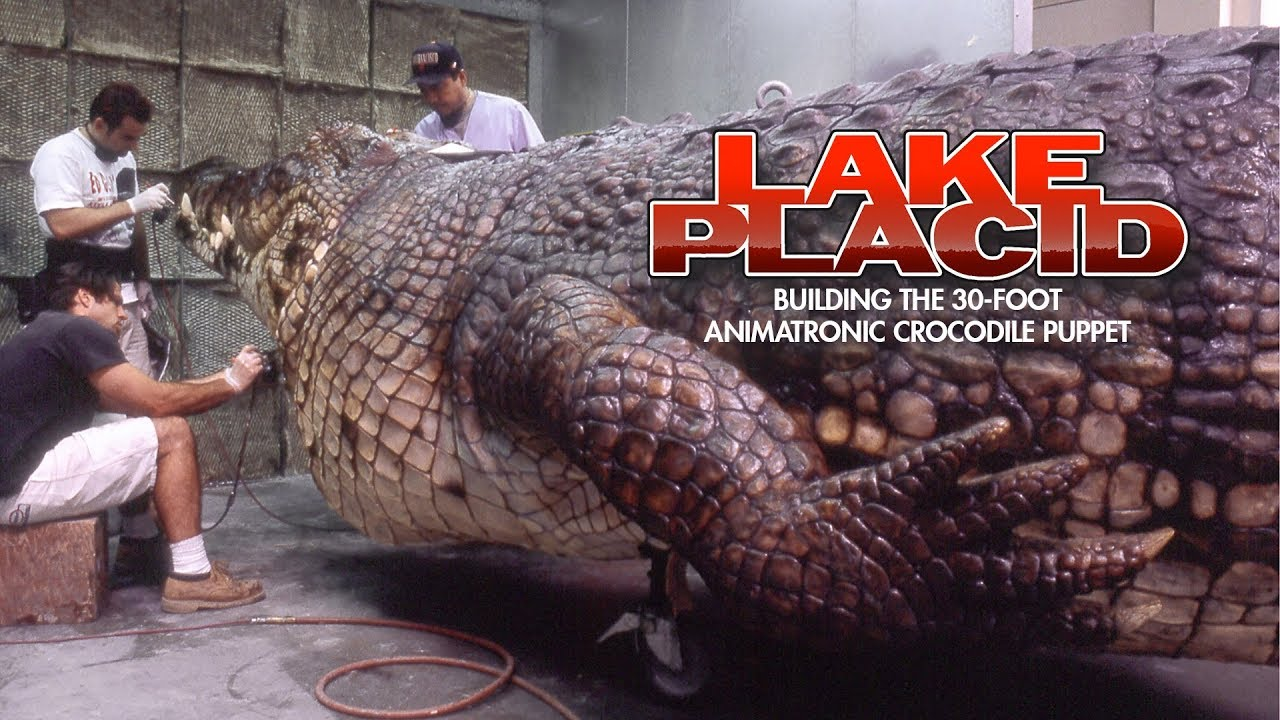 Lake Placid Building The 30 Foot Animatronic Crocodile Youtube