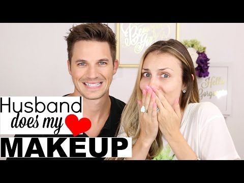 Husband Does My Makeup with Matt Lanter