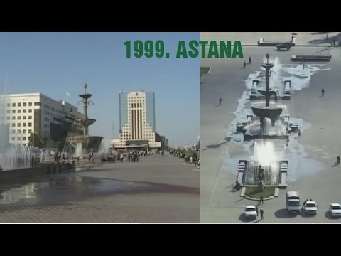 Astana city, Kazakhstan 1999.-capital of Kazakhstan-  Астана Казахстан-CITY TOUR