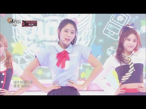【TVPP】AOA – Heart Attack, AOA - 심쿵해 @2015 KMF