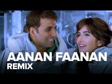 Aanan Faanan (Remix) | Full Audio Song | Namastey London | Akshay Kumar, Katrina Kaif
