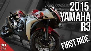 2015 Yamaha R3 | First Ride