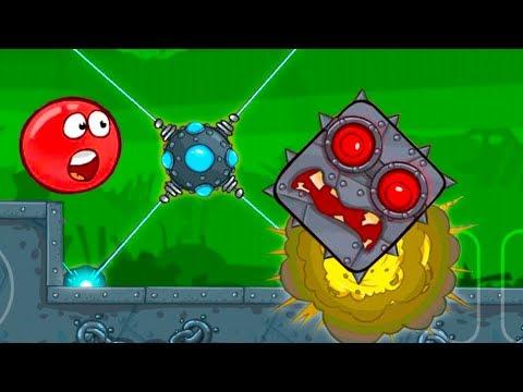 Красный шар 4 серия - мультик игра для маленьких детей!